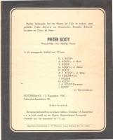 Kooij-Pieter-Overlijden-12-12-1947-Rotterdam