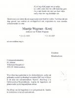 Wegman-Kooij-Maartje-Overlijden-31-10-2007