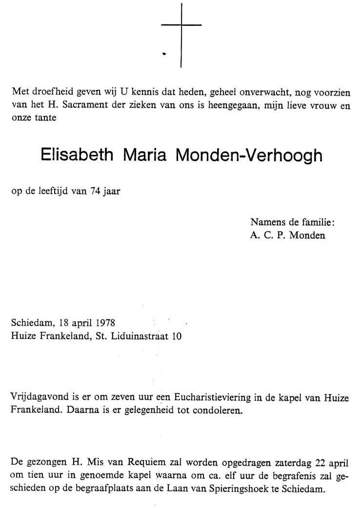 Monden-Verhoogh-Elisabeth-Rouwkaart